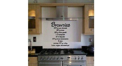Een leuke muurstickers tekst voor in huis qualitysticker
