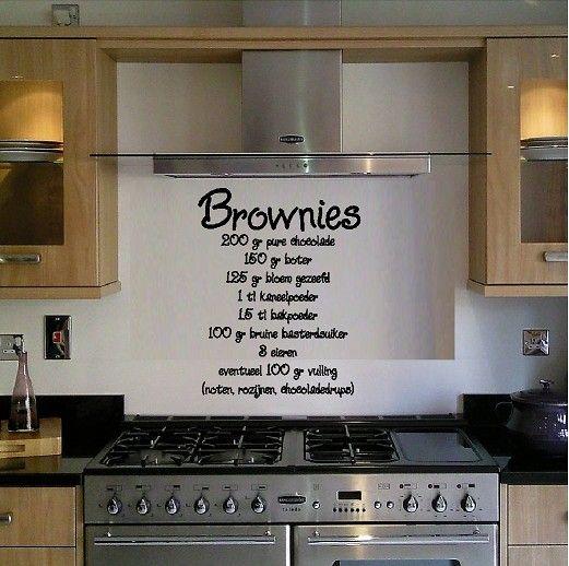 Muurstickers Keuken Decoratie : Muurstickers keuken