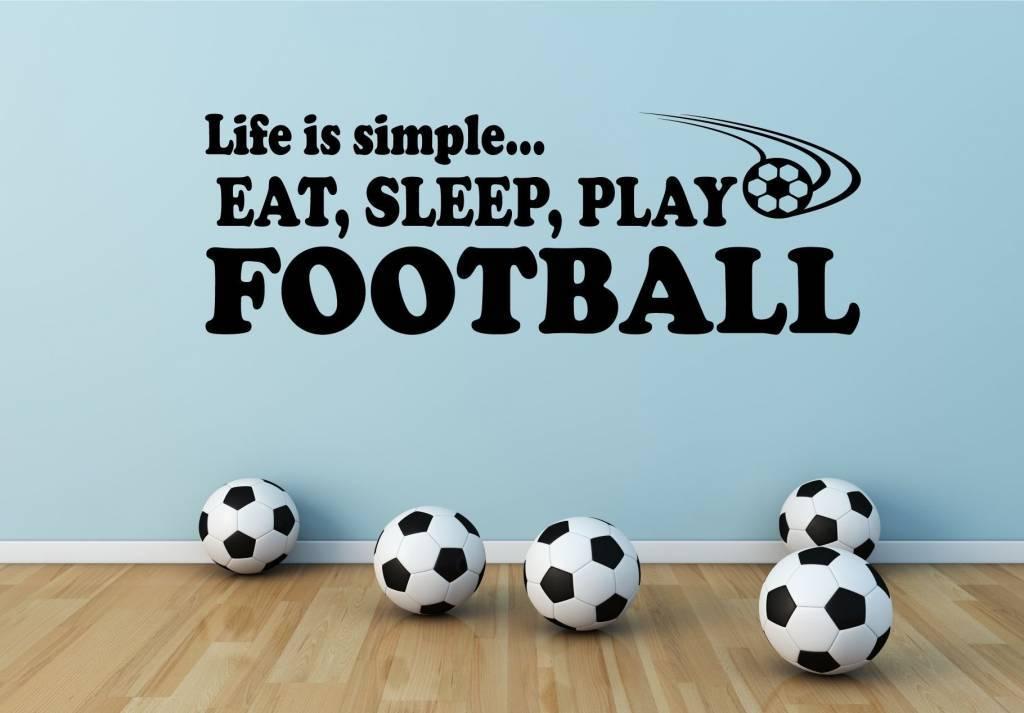 muurstickers sport voor de echte sportfanaten flame football through wall stickers for kids bedroom 3d