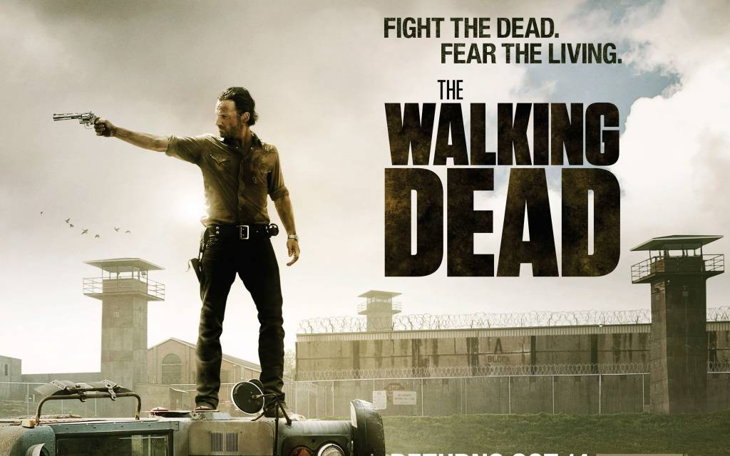 Walking Dead poster 9 fight the dead fear the living