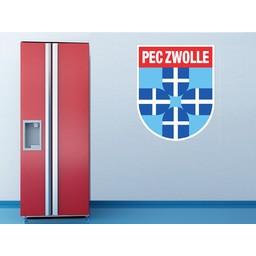 PEC Zwolle muursticker