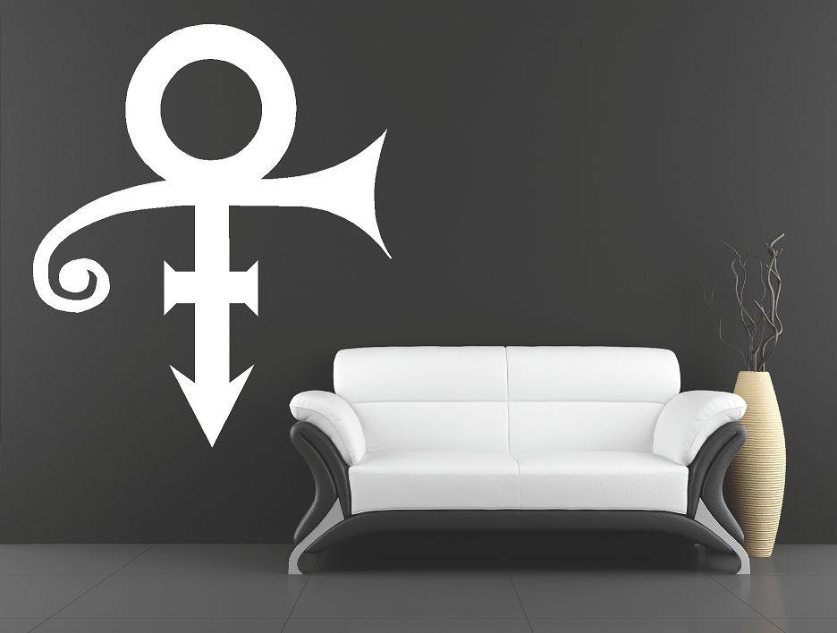 Prince logo muursticker