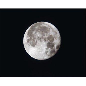 Maan bij nacht muursticker