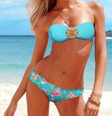 Bohemian Bikini Blue