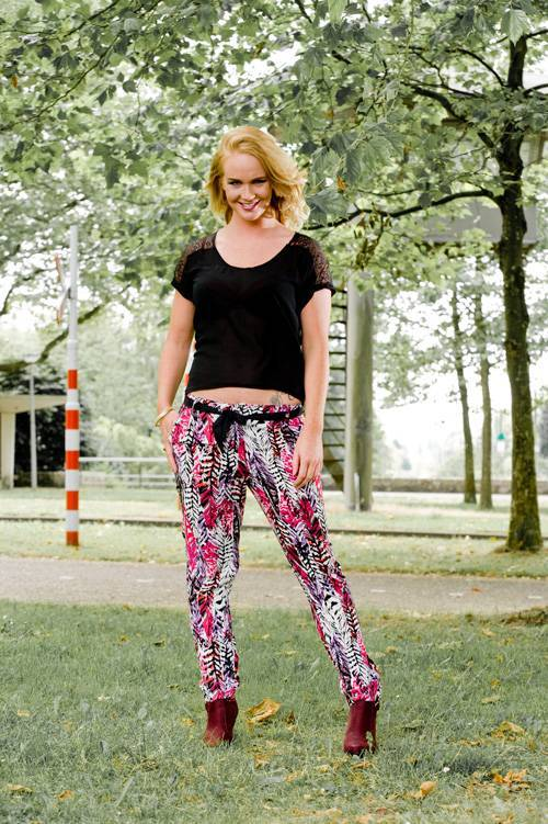 Colourful Rebel Pants