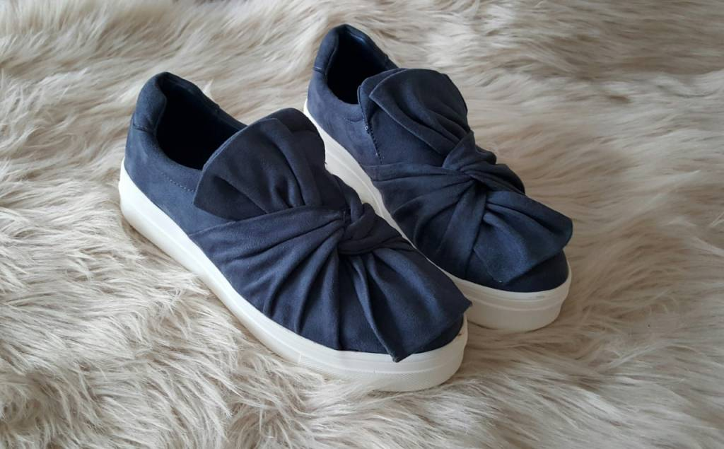 Shoes Bow Blue