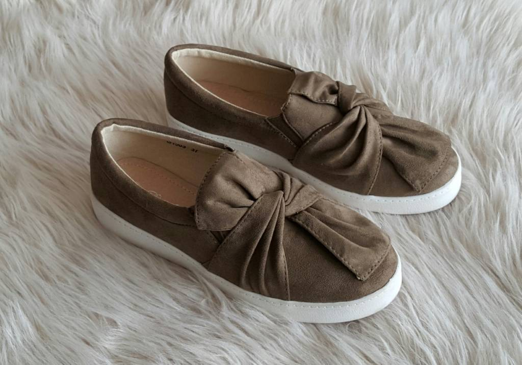 Shoes Bow Green