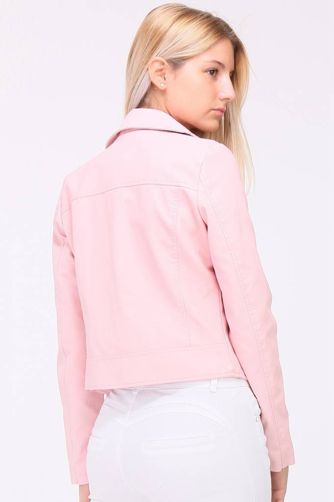 Biker Jacket Pink