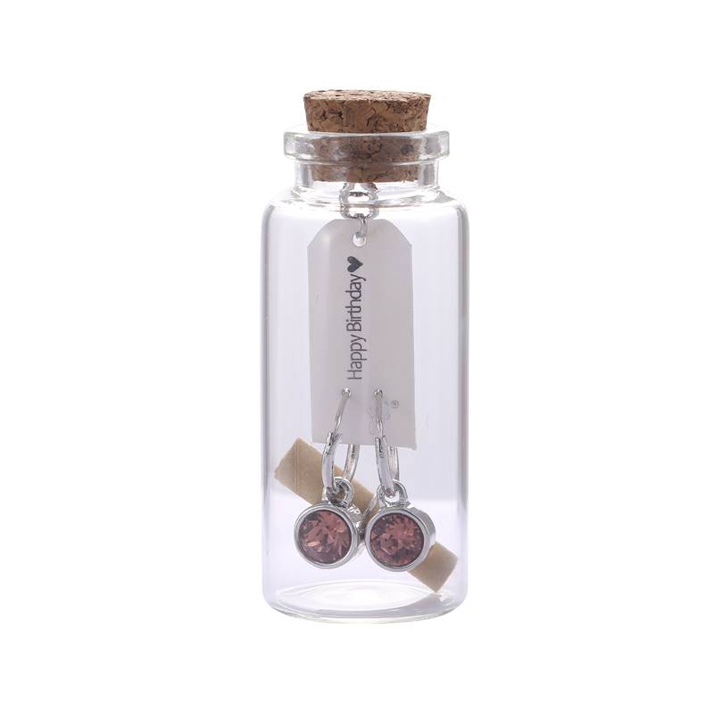 Giftset Message in a Bottle 'HAPPY BIRTHDAY'