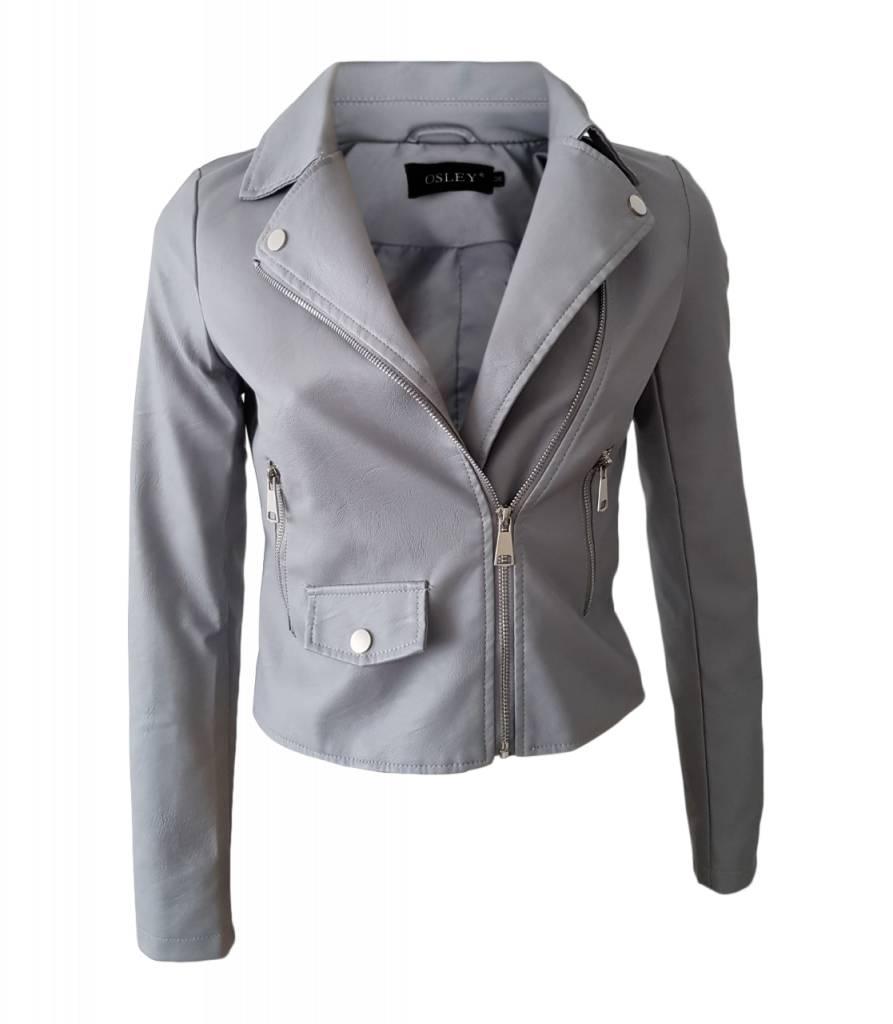 Biker Jacket Grey