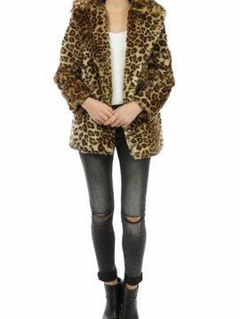 Faux Fur Leopard