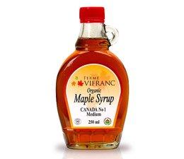 Ferme Vifranc organic Maple syrup 250ml.