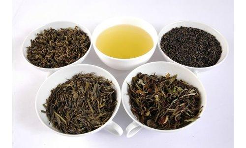 Groene en witte thee