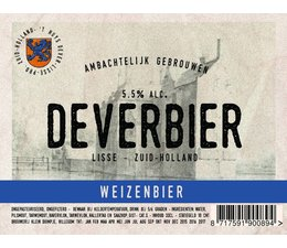 Dever Weizenbier 33cl.