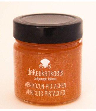 De Keukenkoets Abrikozen - Pistache confituur