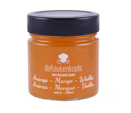De Keukenkoets Ananas - Mango - Vodka confituur
