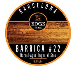 Edge Barrica #22  33cl.