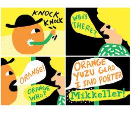 Mikkeller Orange Yuzu - Glad I said porter 33cl.