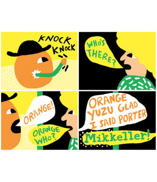 Mikkeller Orange Yuzu - Glad I said porter