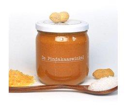 De Pindakaaswinkel Karamel Zeezout 420ml.