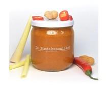 De Pindakaaswinkel Pindakaas met Chilipeper Citroengras