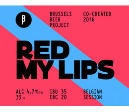 Brussels Beer Project Red my lips 33cl.