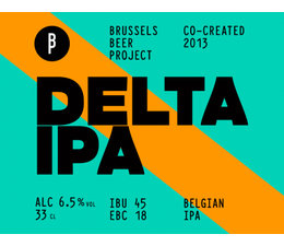 Brussels Beer Project Delta IPA 33cl.