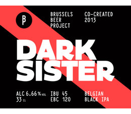 Brussels Beer Project Dark Sister 33cl.