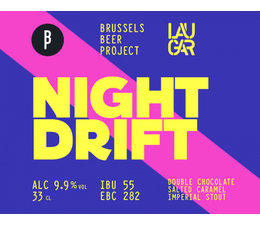 Brussels Beer Project Night Drift 33cl. - Limited