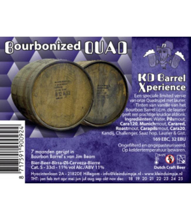 Klein Duimpje Bourbonized QUAD Barrel aged • 11%