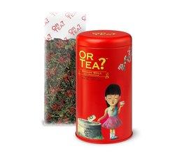 Or Tea? Dragon Well - losse groene thee- in verzamelblik