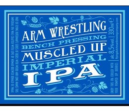 Flying Dutchman  Arm Wrestling Bench Pressing Muscled Up Imperial IPA 8,5 %
