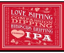 Flying Dutchman Love Sipping Compassion Hibiscus IPA