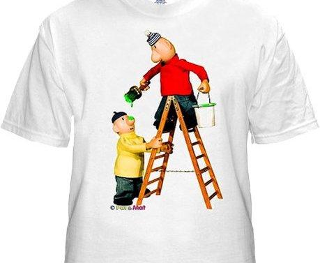 Buurman & Buurman T-shirt WIT LADDER Kids