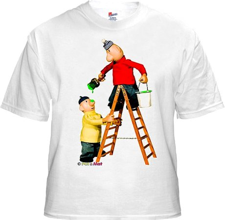 Buurman & Buurman T-shirt WIT LADDER Kids