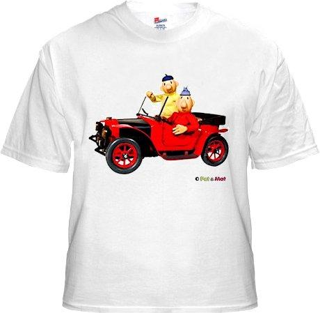 Buurman & Buurman T-shirt WIT AUTO Kids