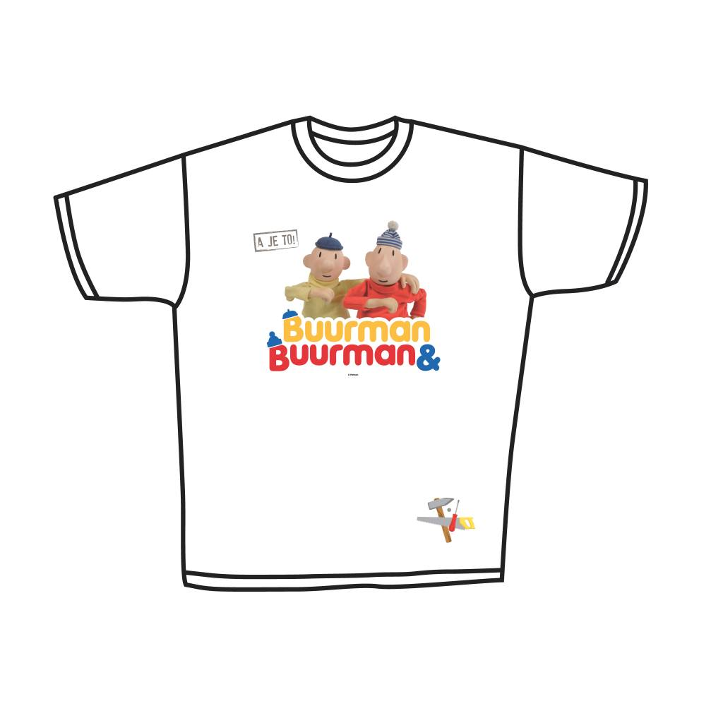 Buurman & Buurman T-shirt WHITE Kids