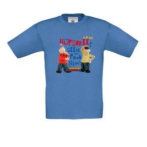 Buurman & Buurman T-shirt AZUR BLUE Kids Hupsakee