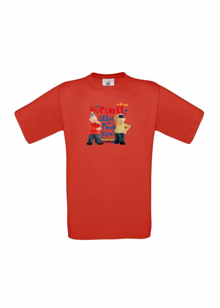 Buurman & Buurman T-shirt ROOD Hupsakee
