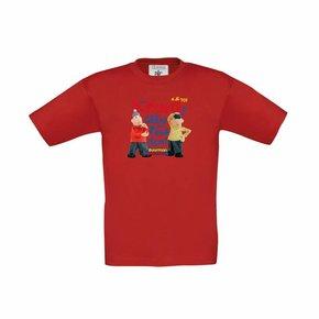 Buurman & Buurman T-shirt ROOD Kids Hupsakee