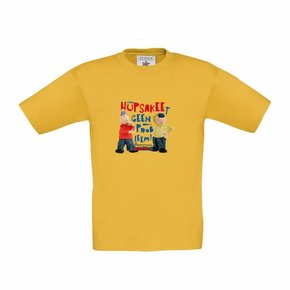 Buurman & Buurman T-shirt GEEL/GOLD Kids Hupsakee