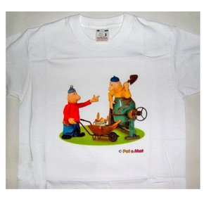 Buurman & Buurman T-shirt WIT MIXER Kids