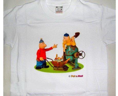 Buurman & Buurman T-shirt WIT MIXER Kids