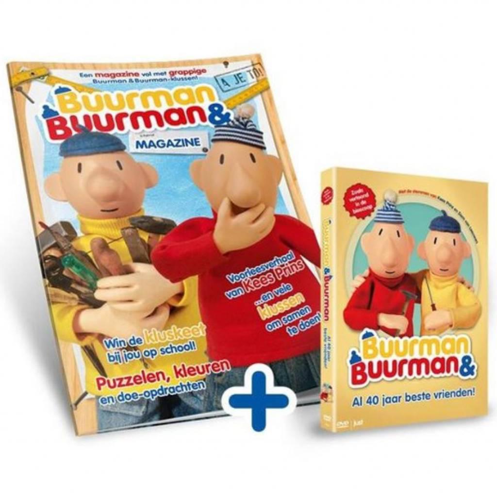 Buurman & Buurman Magazine incl. DVD Buurman & Buurman al 40 jaar beste vrienden!
