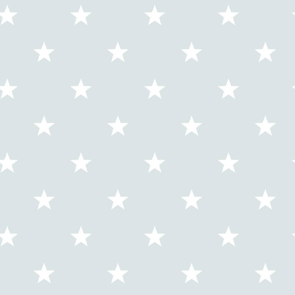 noordwand sterrenbehang in vergrijsd blauw wit eigewijz. Black Bedroom Furniture Sets. Home Design Ideas