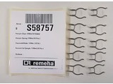 Remeha Hairpin clips 17mm set 10 stuks S58757
