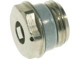 """Simplex Radiator ontluchtingsstop 1/2""""nikkel 3204278"""