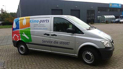 Servicebus Klima-parts Waalwijk