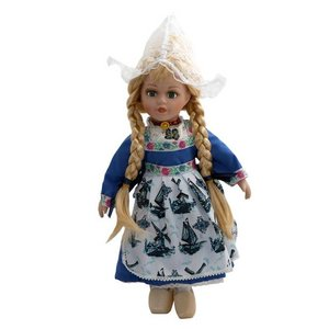 Typisch Hollands Doll in traditional dress 26 cm