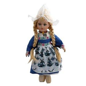 Typisch Hollands Puppe in traditioneller Kleidung 26 cm